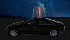 3D moving hologram