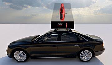 Image of 3d hologram ad
